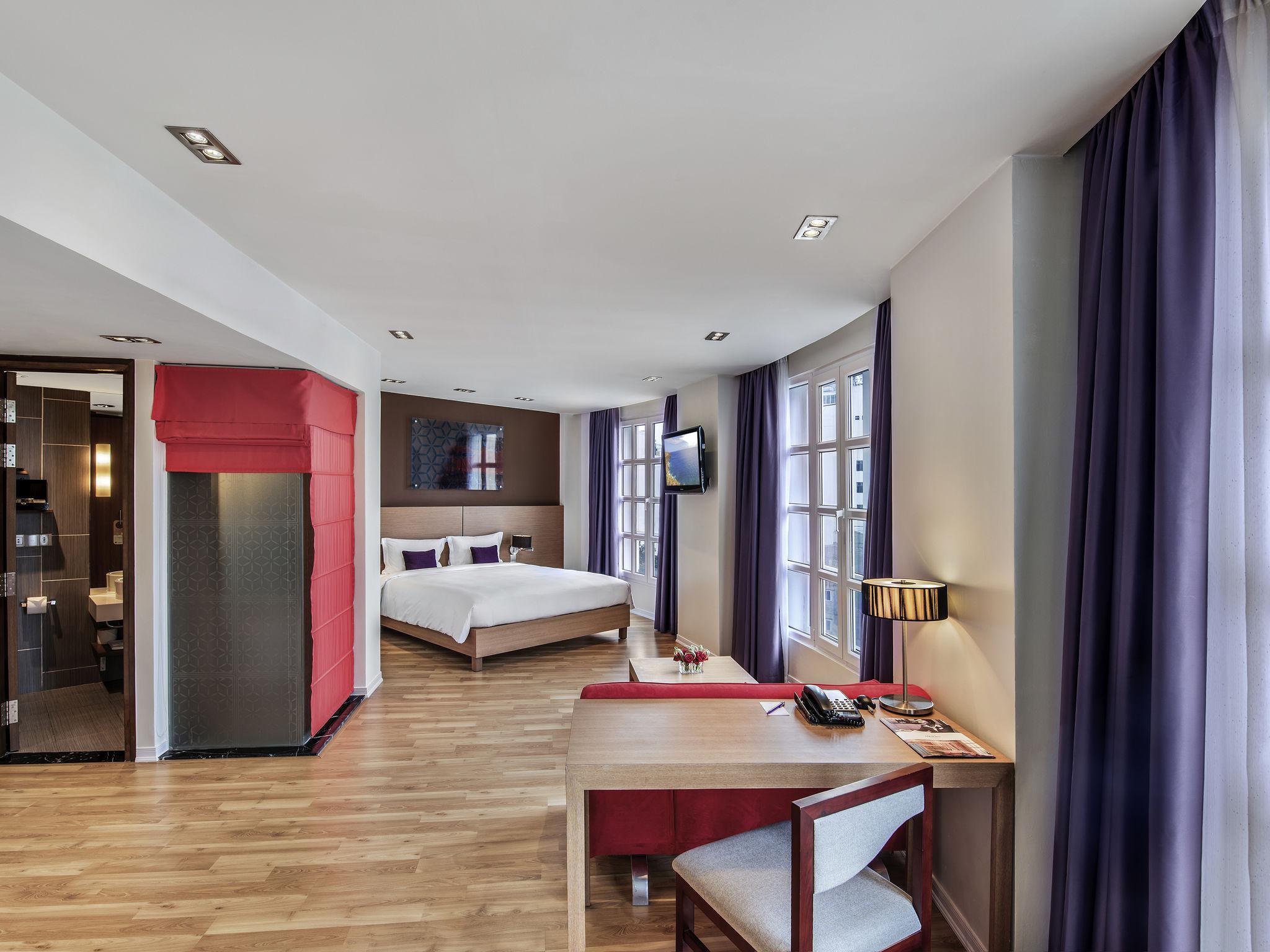 โรงแรม – เมอร์เคียว ฮานอย ลา การ์