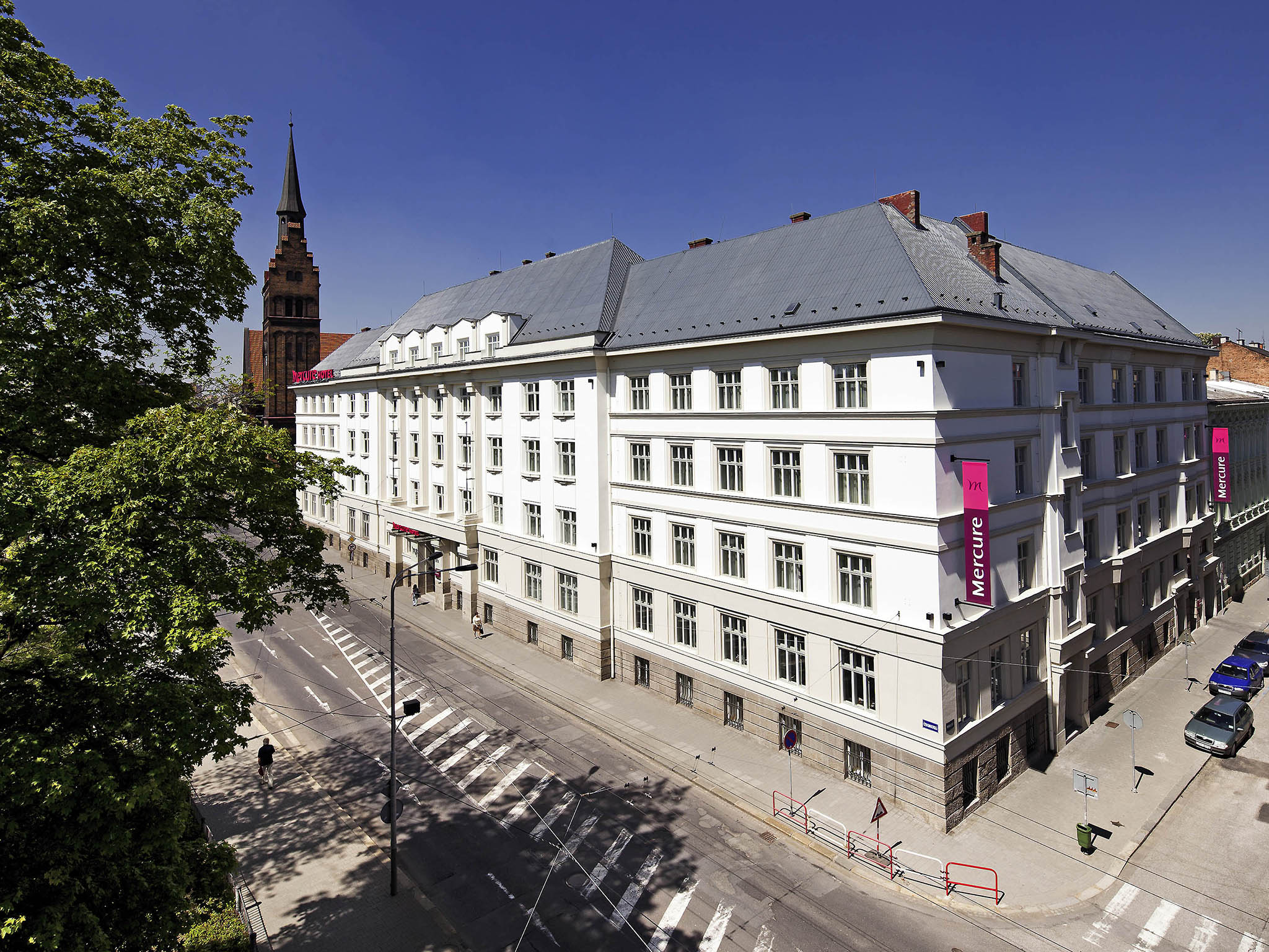 酒店 – 俄斯特拉发中心美居酒店