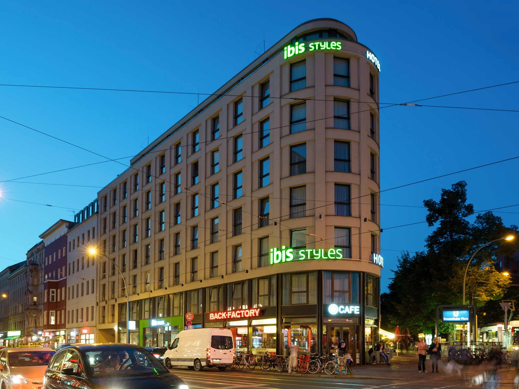 Отель — ibis Styles Берлин Митте