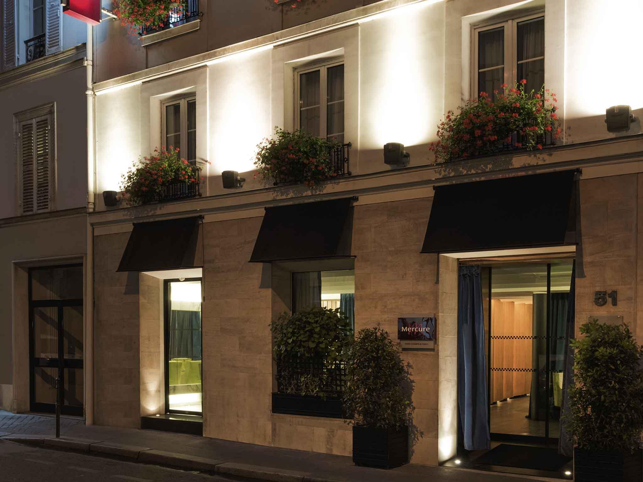 Hotel Des Champs Elysees Hotel In Paris Mercure Paris Champs Elysaces Hotel