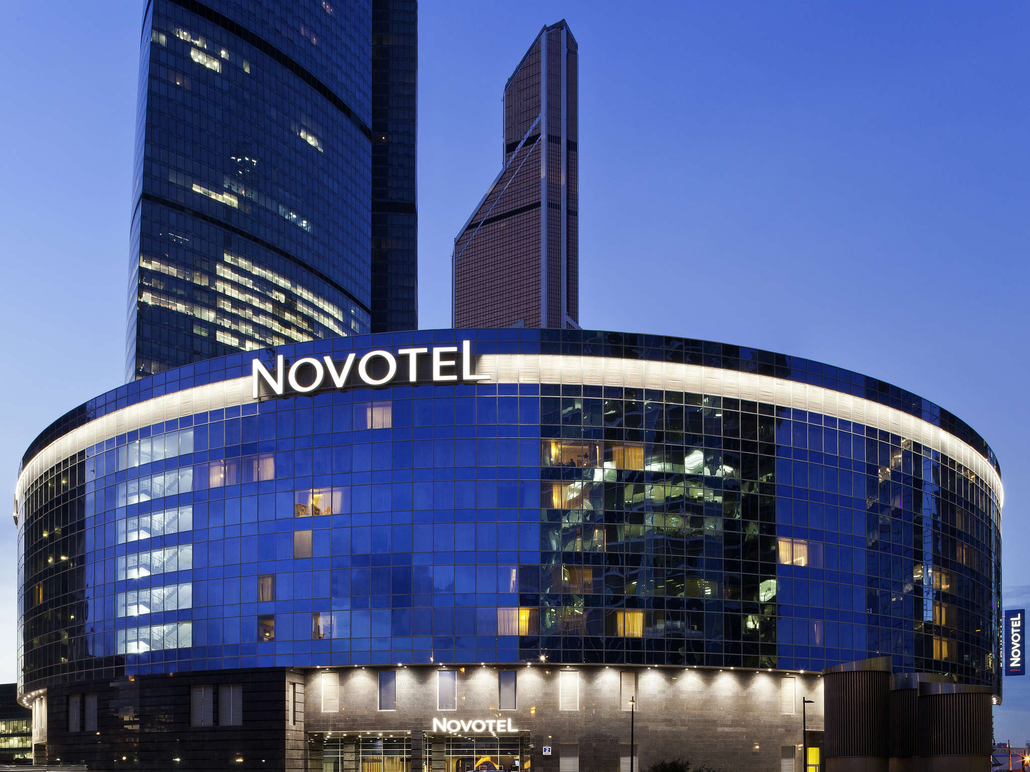 Hotell – Novotel Moscow City