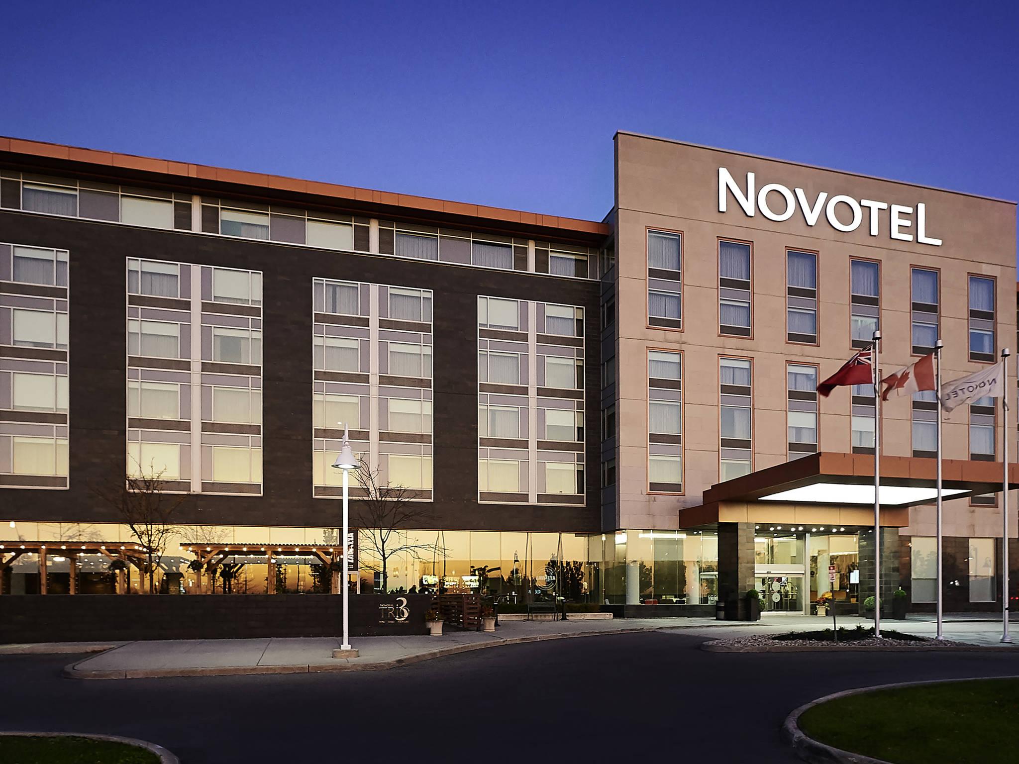 โรงแรม – Novotel Toronto Vaughan
