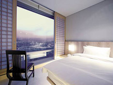 The only international chain hotel in Changwon
