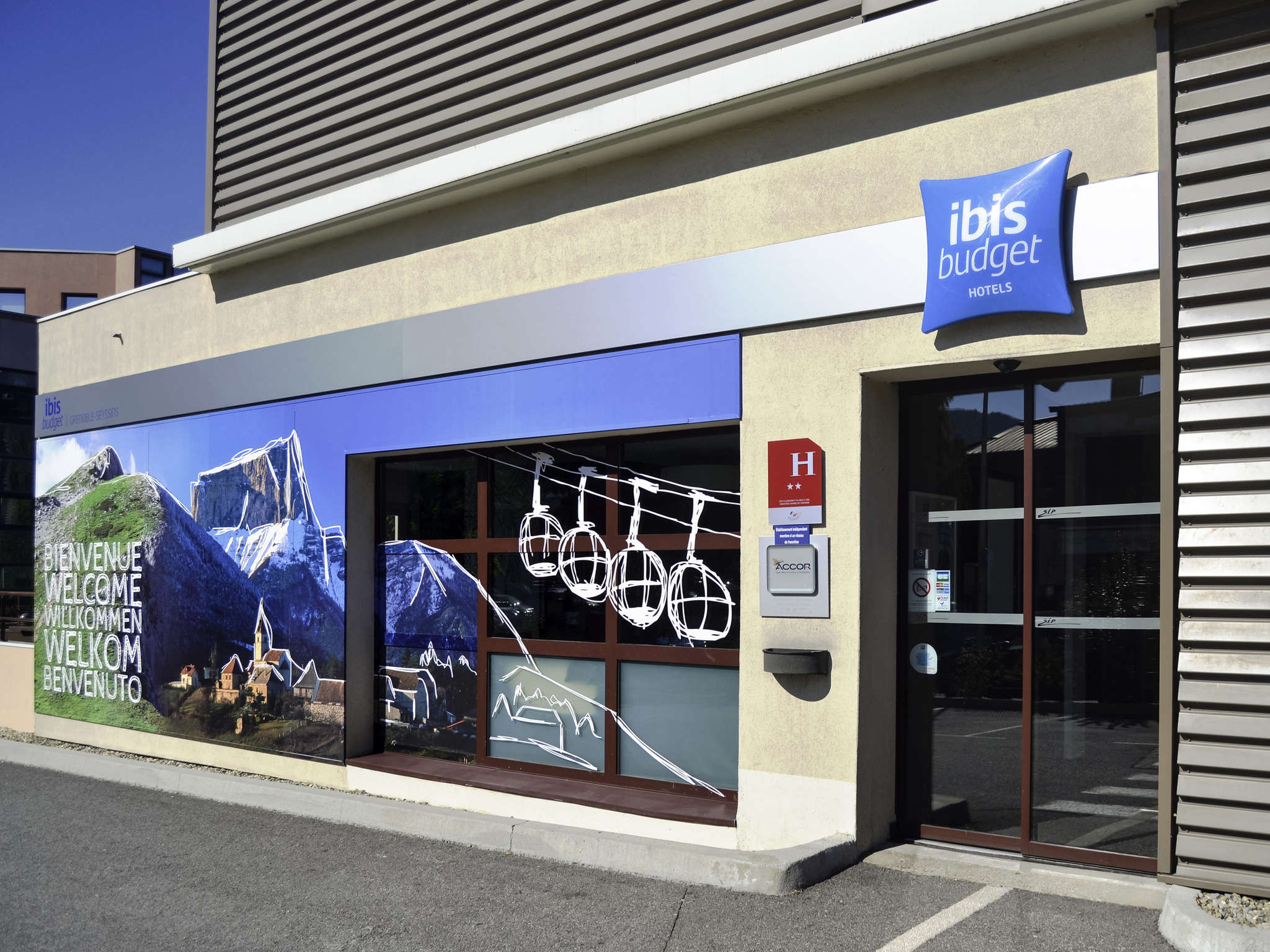 Hotell – ibis budget Grenoble Sud Seyssins
