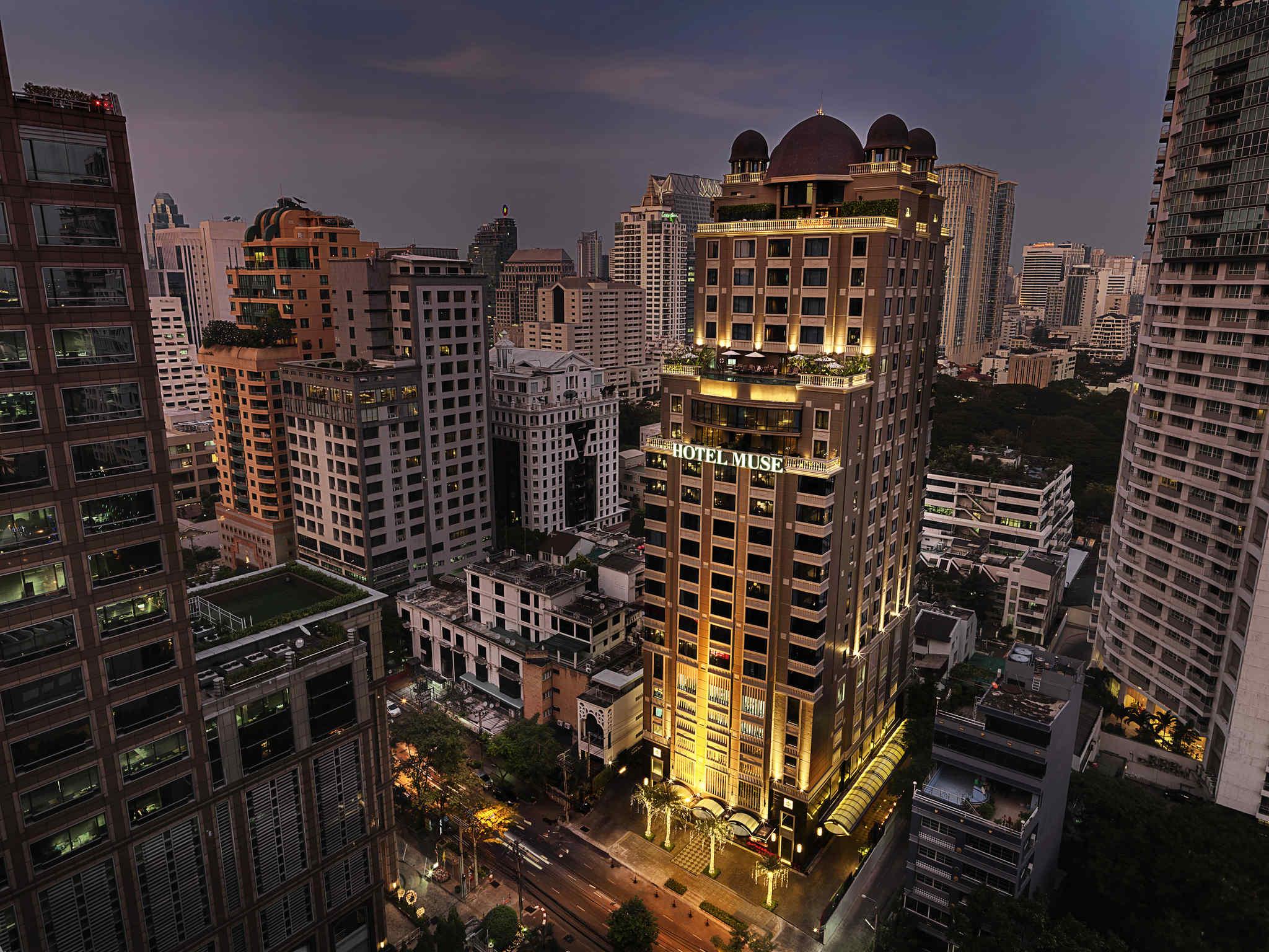 โรงแรม – โรงแรมมิวส์ กรุงเทพ หลังสวน - เอ็มแกลเลอรี บาย โซฟิเทล