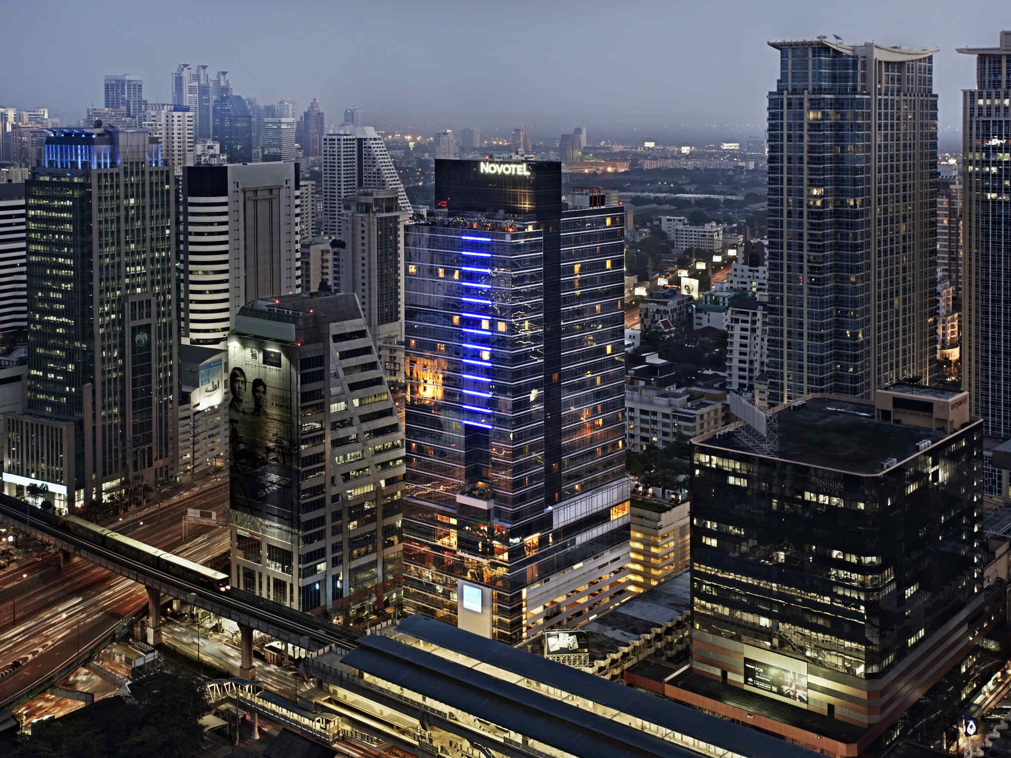 酒店 – 诺富特曼谷隆齐素坤逸酒店