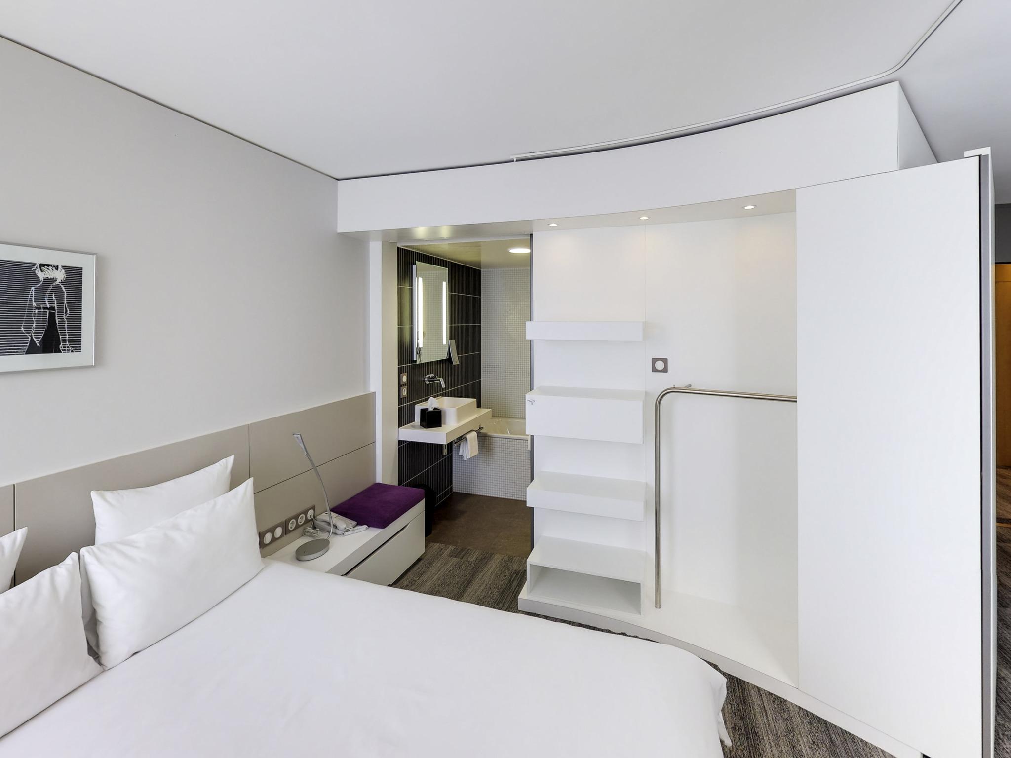 โรงแรม – Novotel Suites Luxembourg