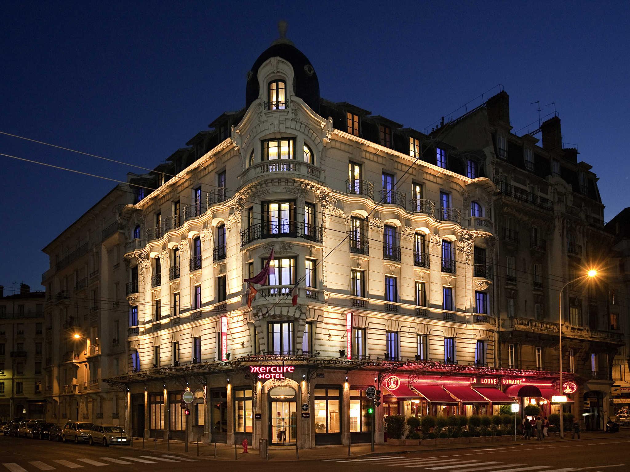 โรงแรม – Hôtel Mercure Lyon Centre Brotteaux