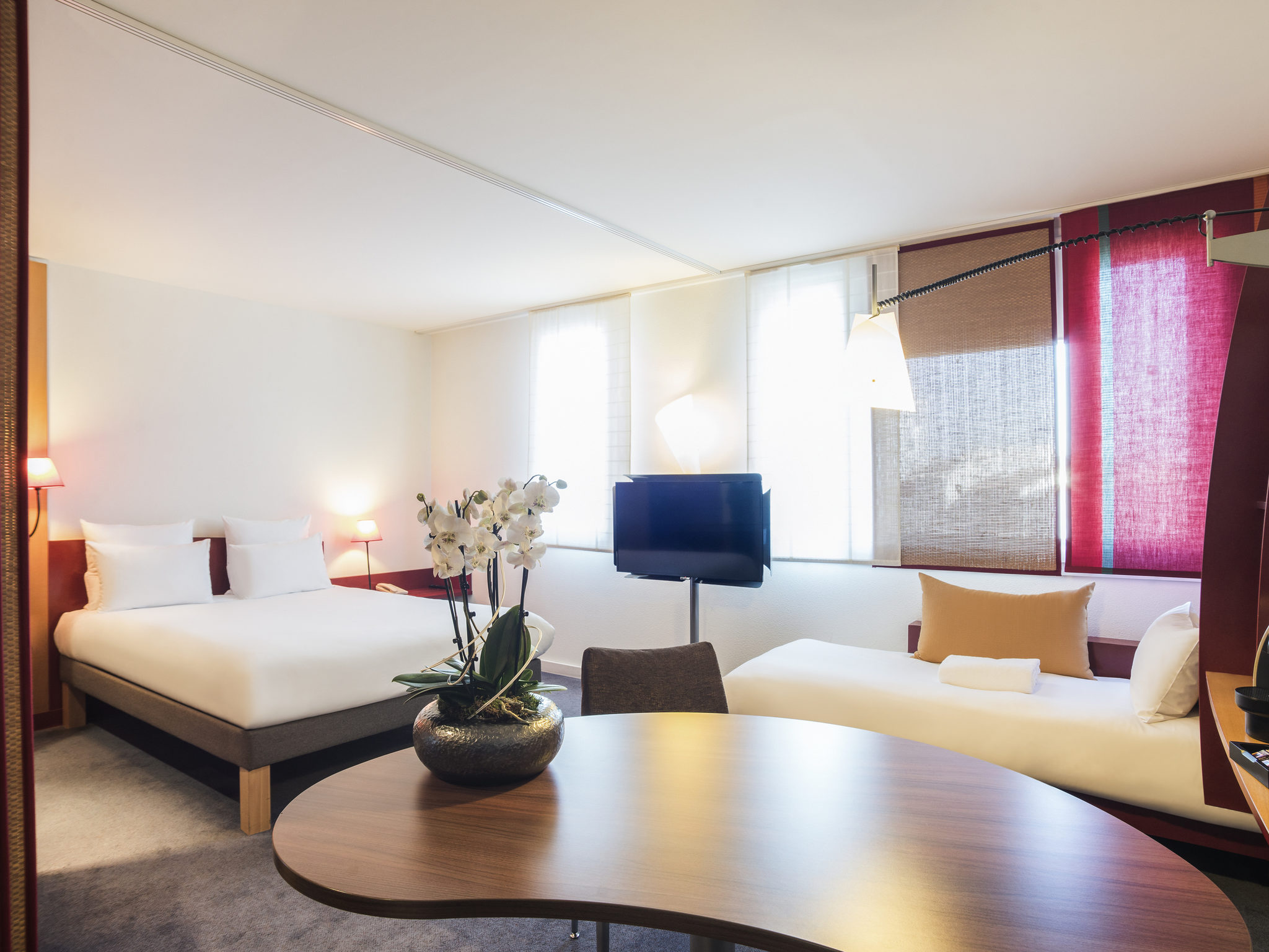 酒店 – 兰斯中心诺富特套房酒店