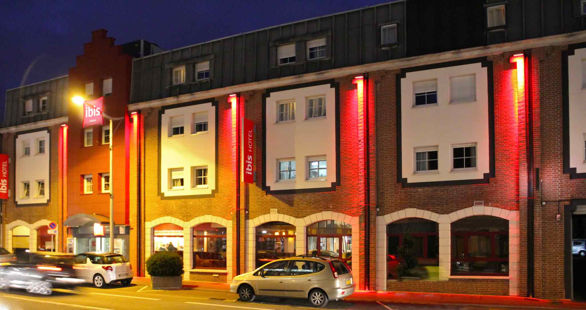 Hotell – ibis Lille Lomme Centre