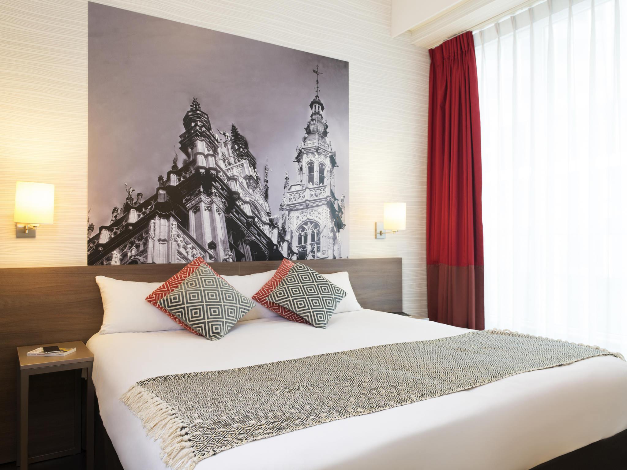 Отель — Апарт-отель Adagio Брюссель Гран-Плас