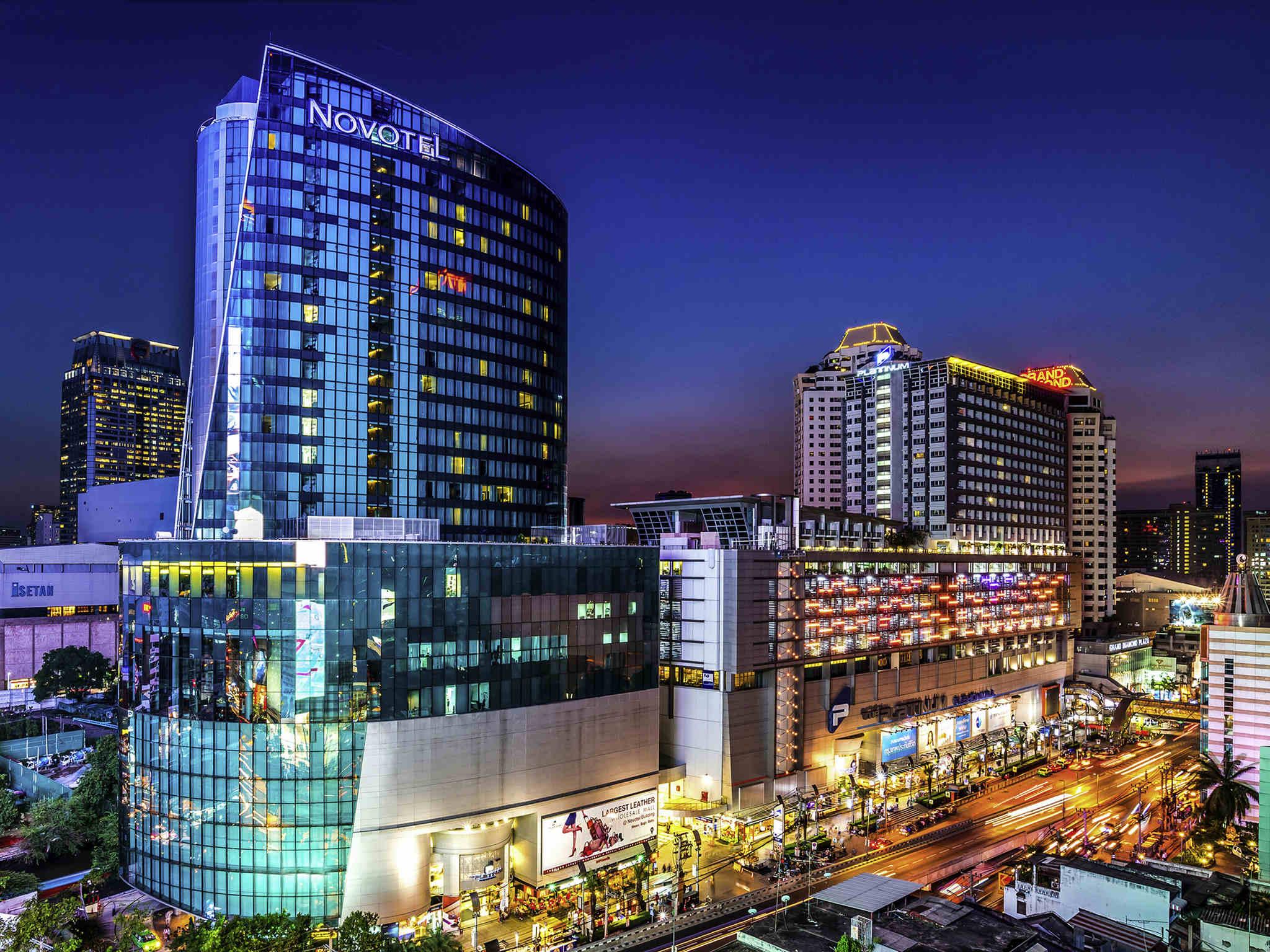 호텔 – 노보텔 방콕 플래티넘 프라투남