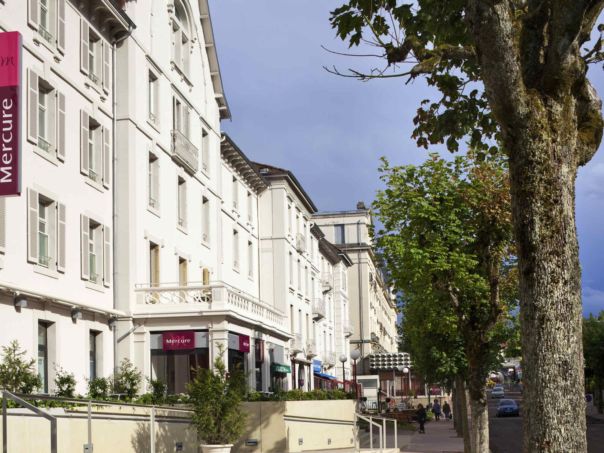 Отель — Hôtel Mercure Vittel