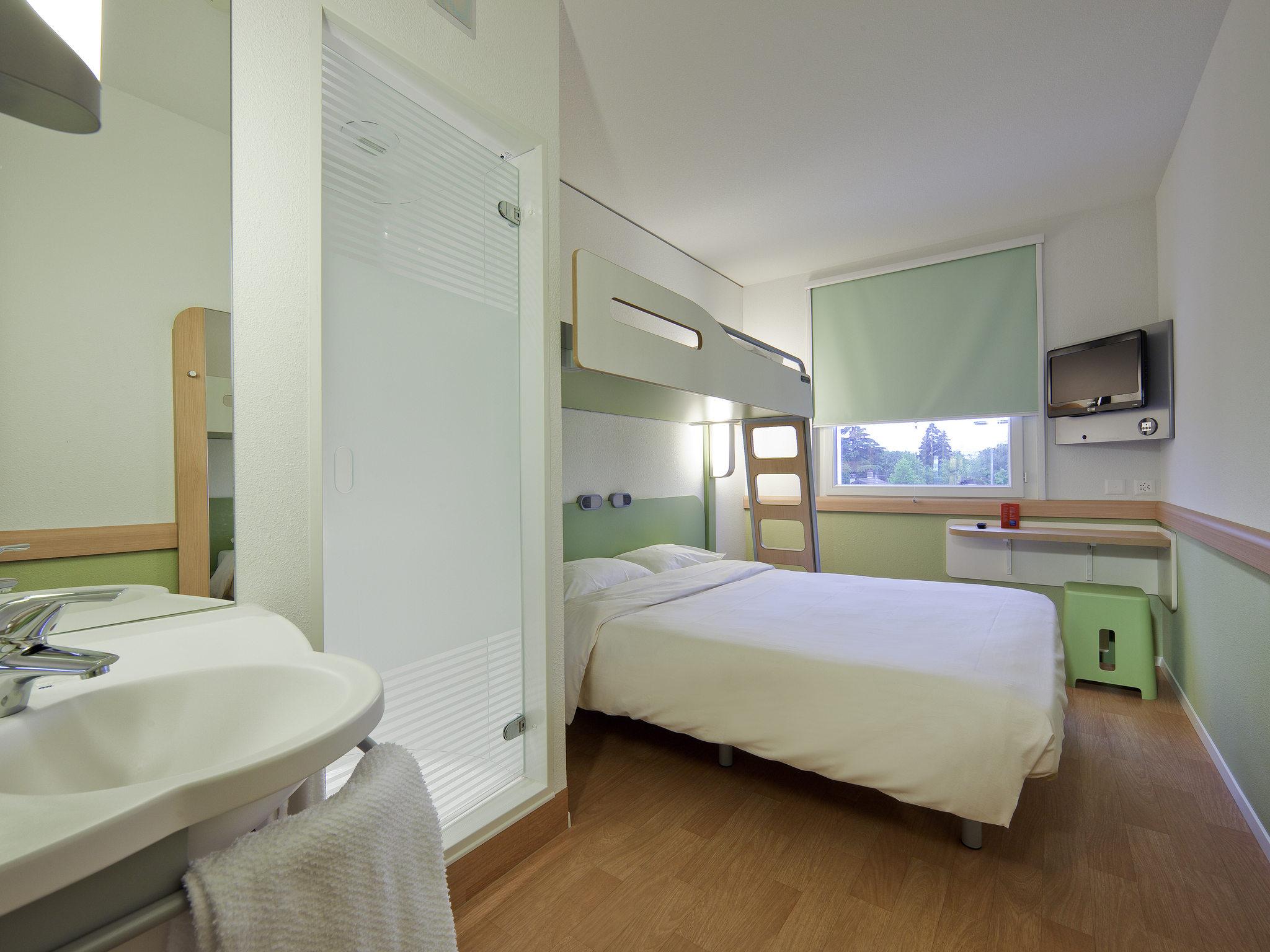 H tel ibis budget gen ve petit lancy accor hotels for Hotel petit budget