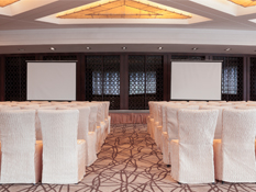 Meetings happen in 17 flexible, fully equipped event spaces