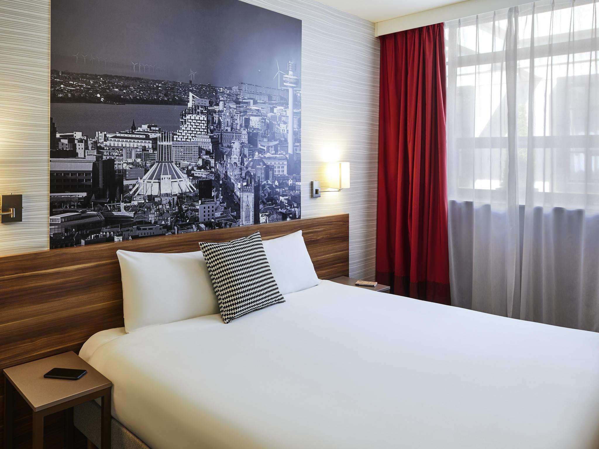 Отель — Aparthotel Adagio Ливерпуль Сити Центр