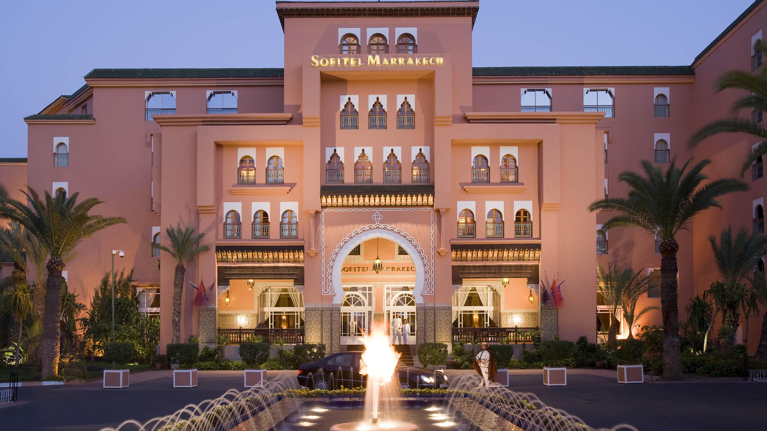 Luxushotel Marrakech Sofitel Marrakech Palais Imperial