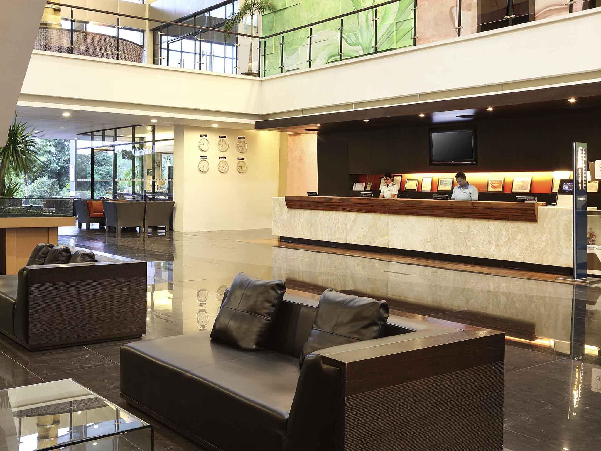 Отель — Novotel Манадо Гольф Резорт и Конференц-центр