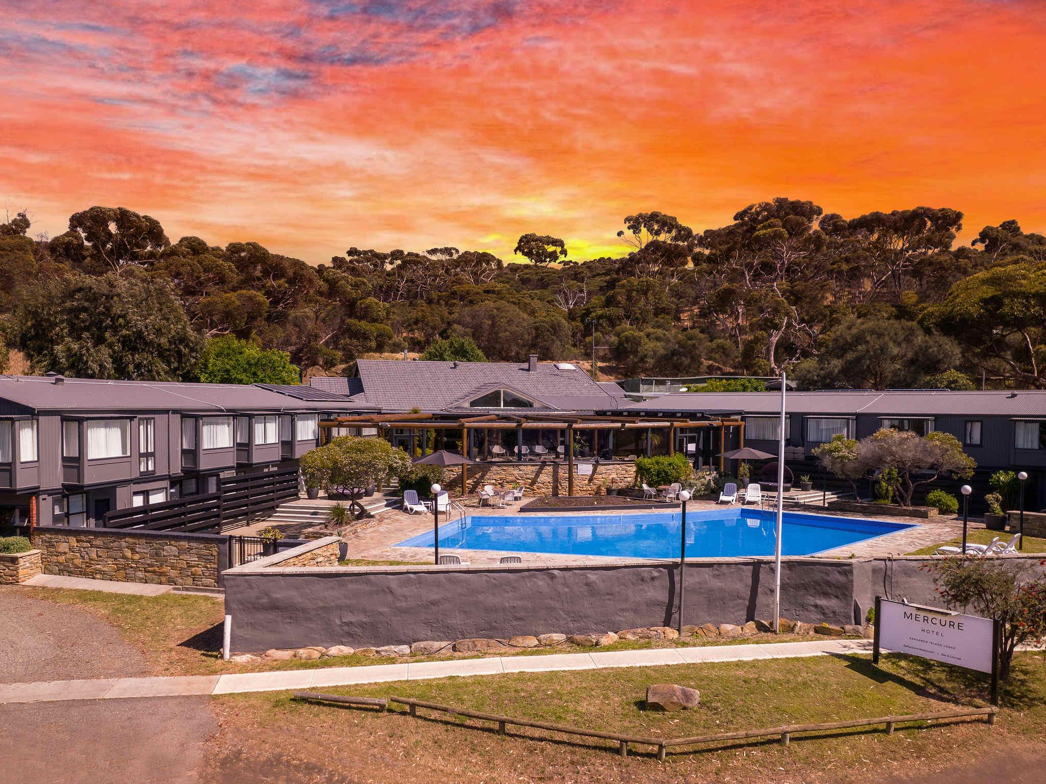 โรงแรม – Mercure Kangaroo Island Lodge