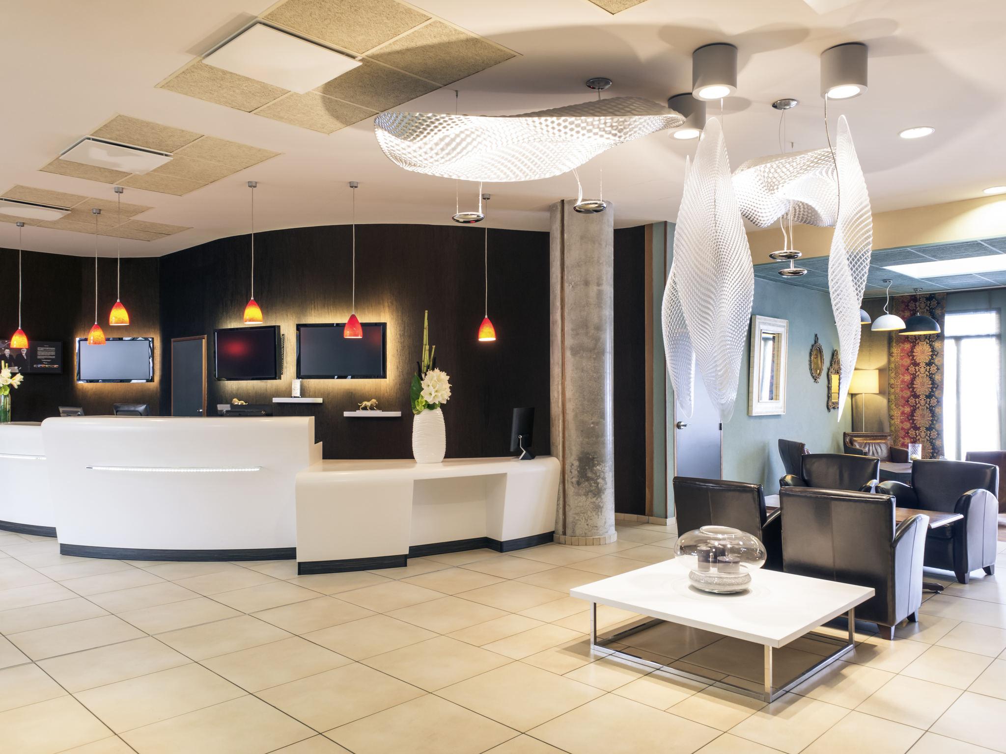 โรงแรม – Hôtel Mercure Lyon Centre - Gare Part-Dieu