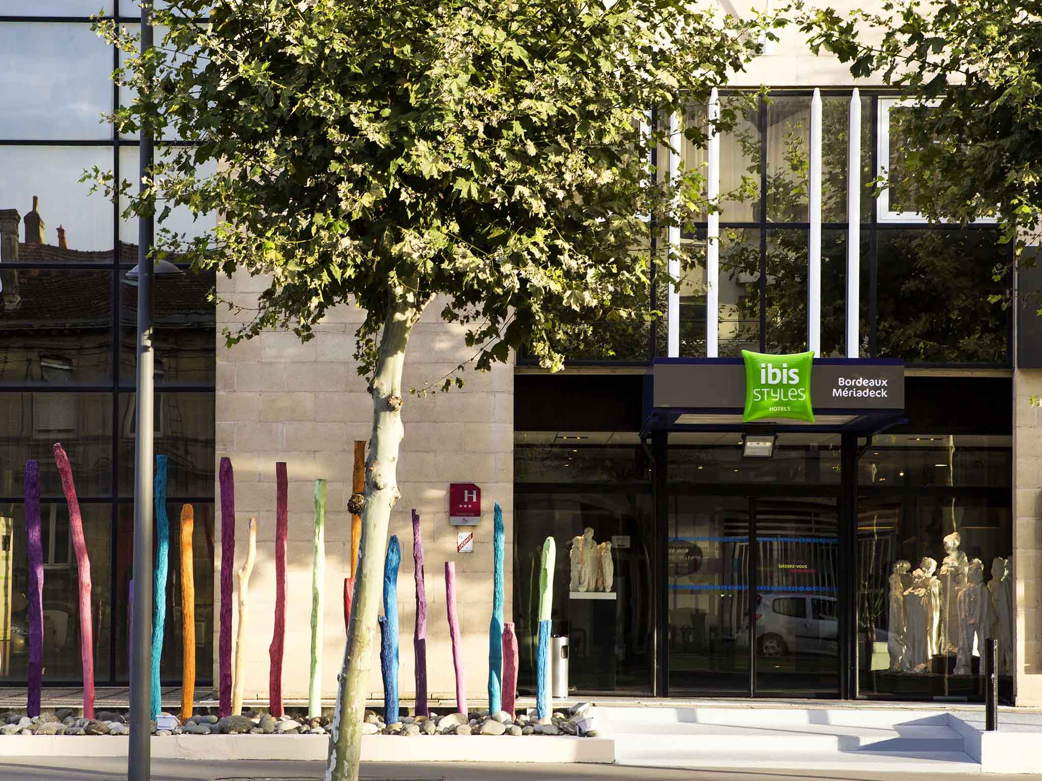 Hôtel - ibis Styles Bordeaux Mériadeck