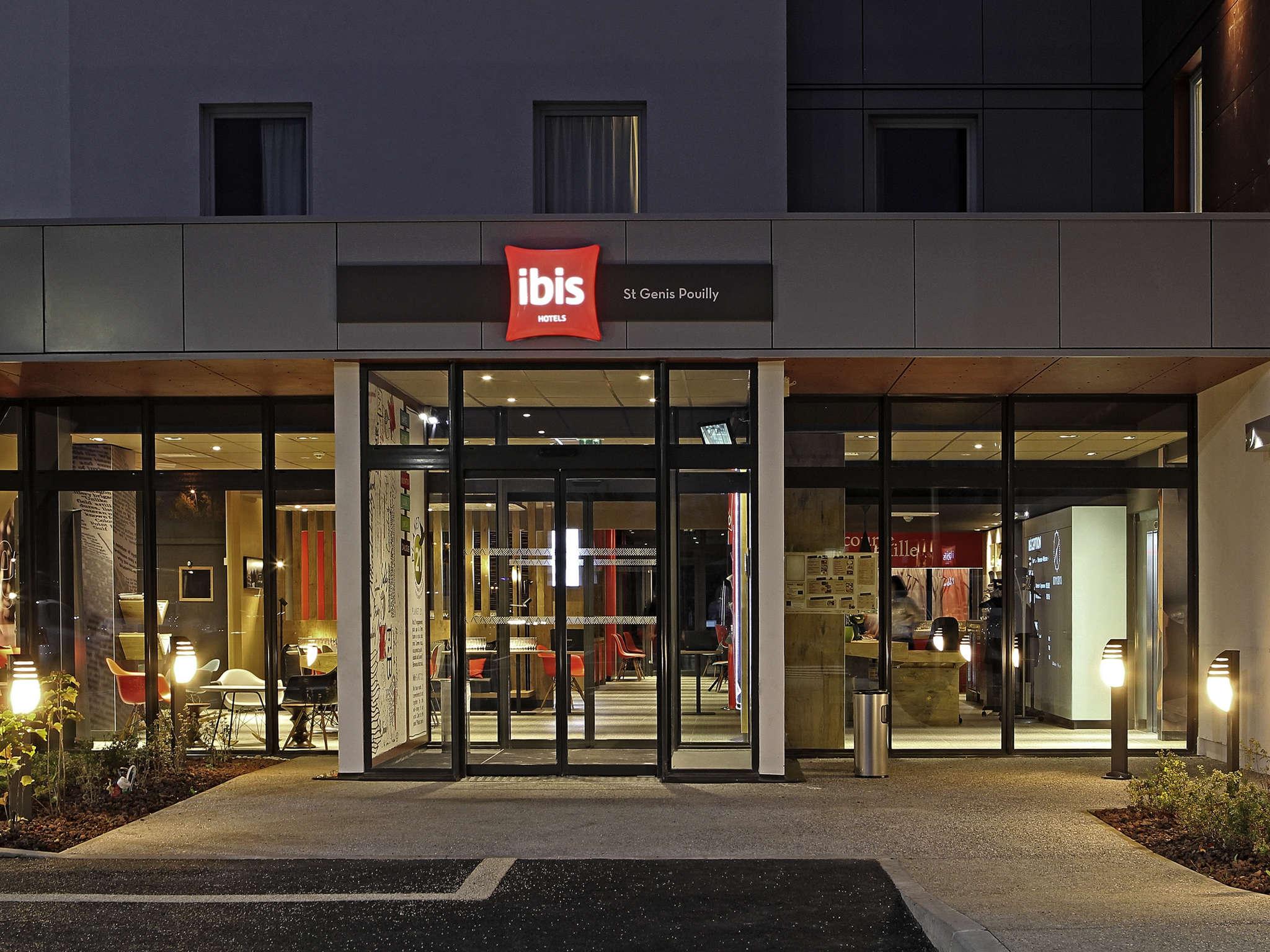 Hotell – ibis Saint-Genis-Pouilly Genève