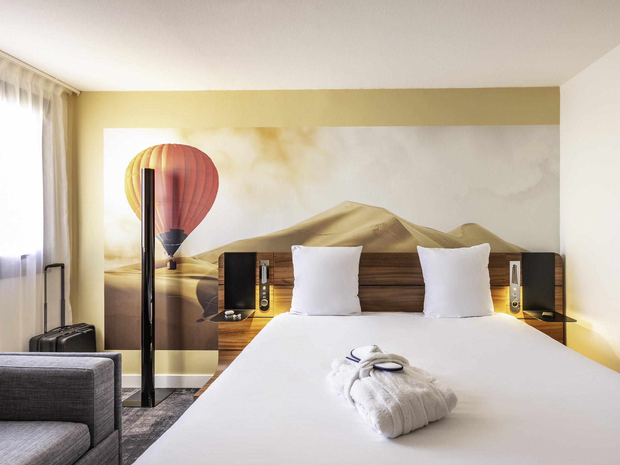 酒店 – 波尔多中心火车站圣让美居酒店