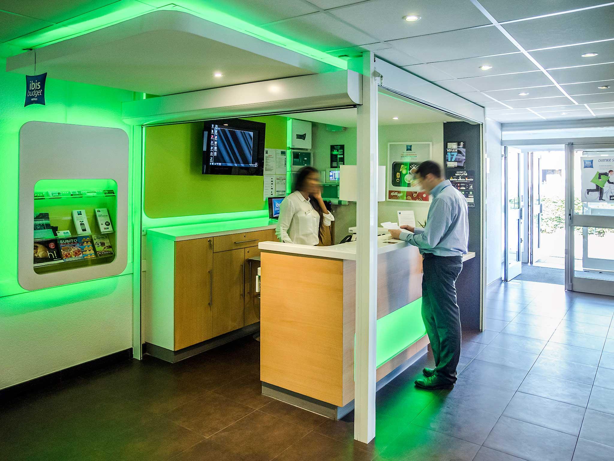 Hotel – ibis budget Aéroport Le Bourget Garonor