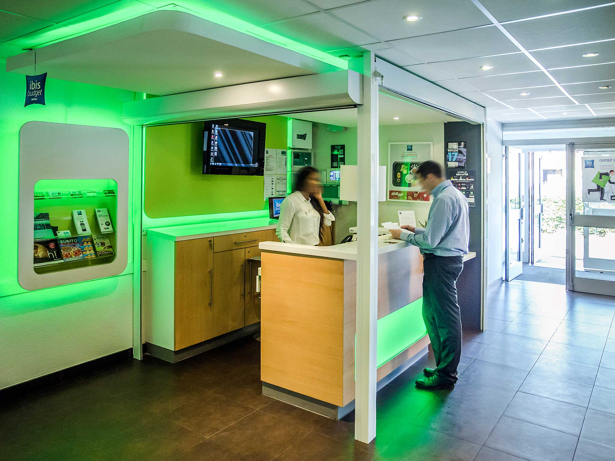 Hotell – ibis budget Aéroport Le Bourget Garonor