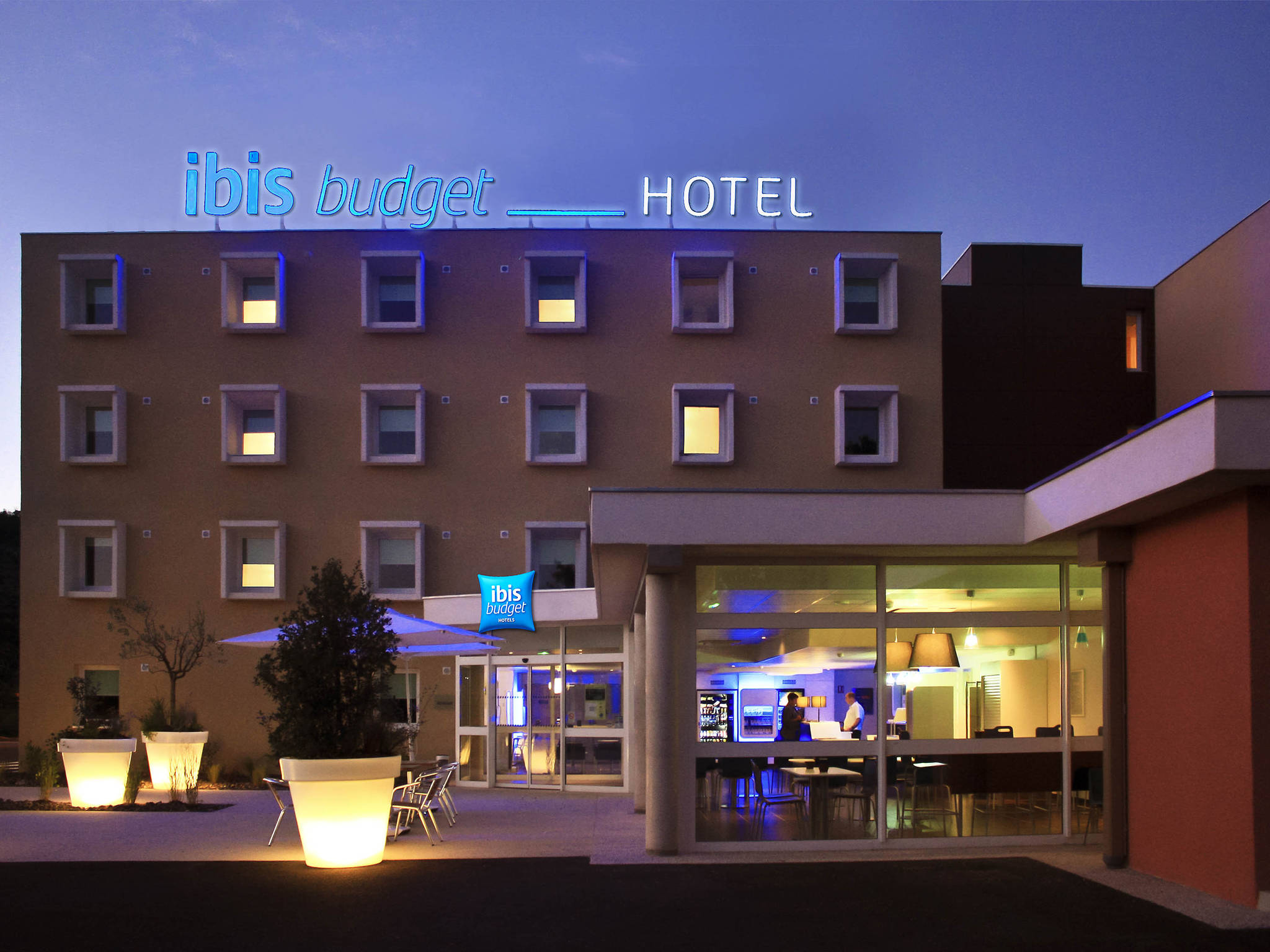 فندق - ibis budget Loriol Le Pouzin