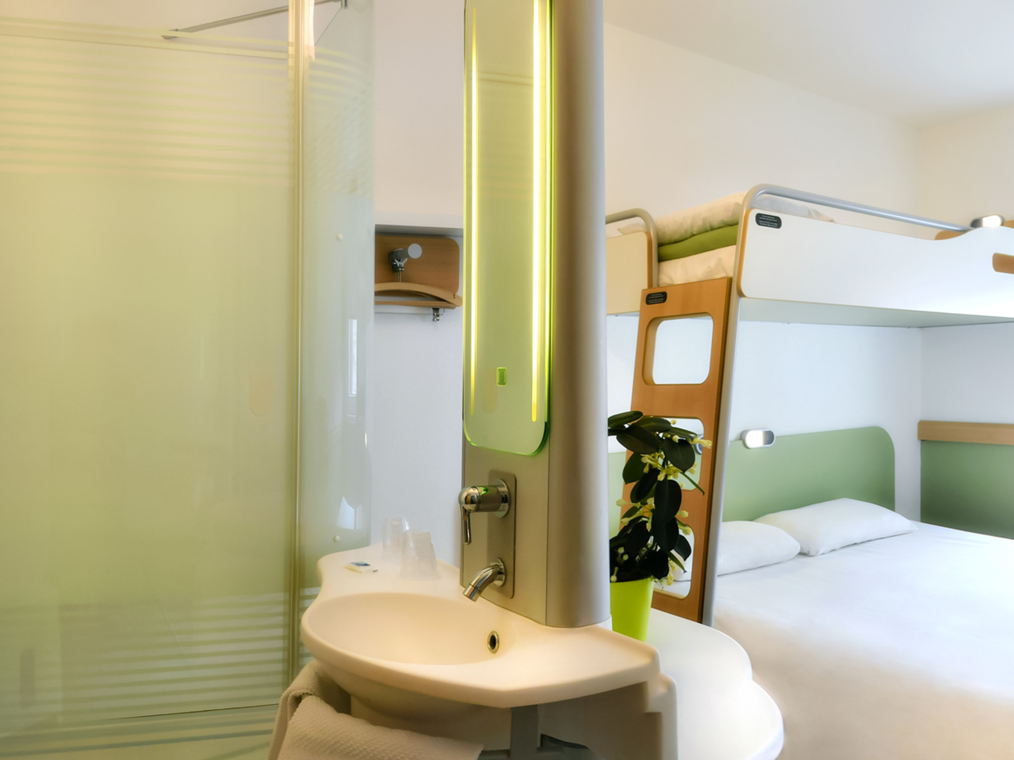 ホテル – ibis budget Saint-Quentin Centre Gare