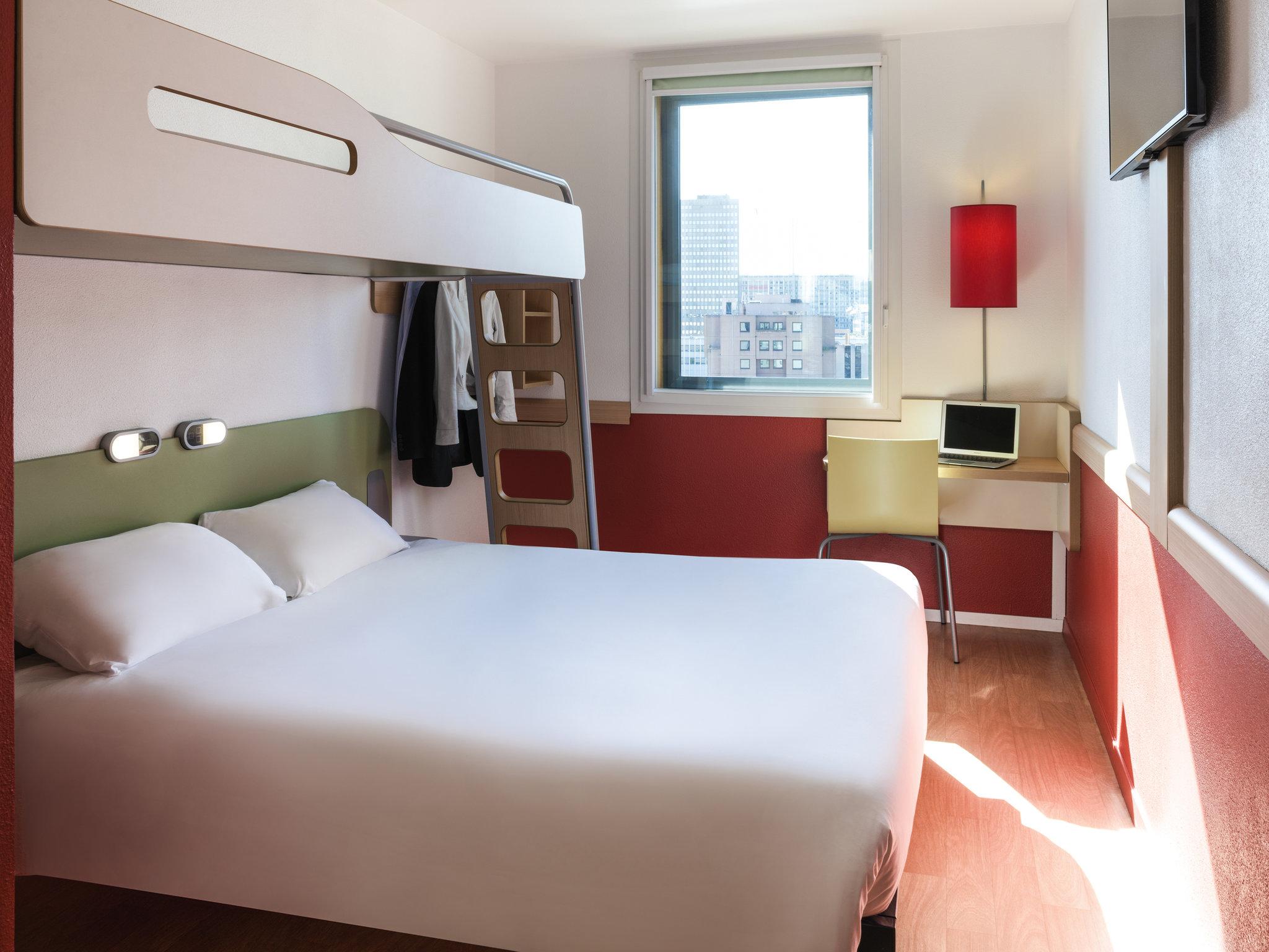 Отель — ibis budget Лион Центр - Вокзал Пар-Дье