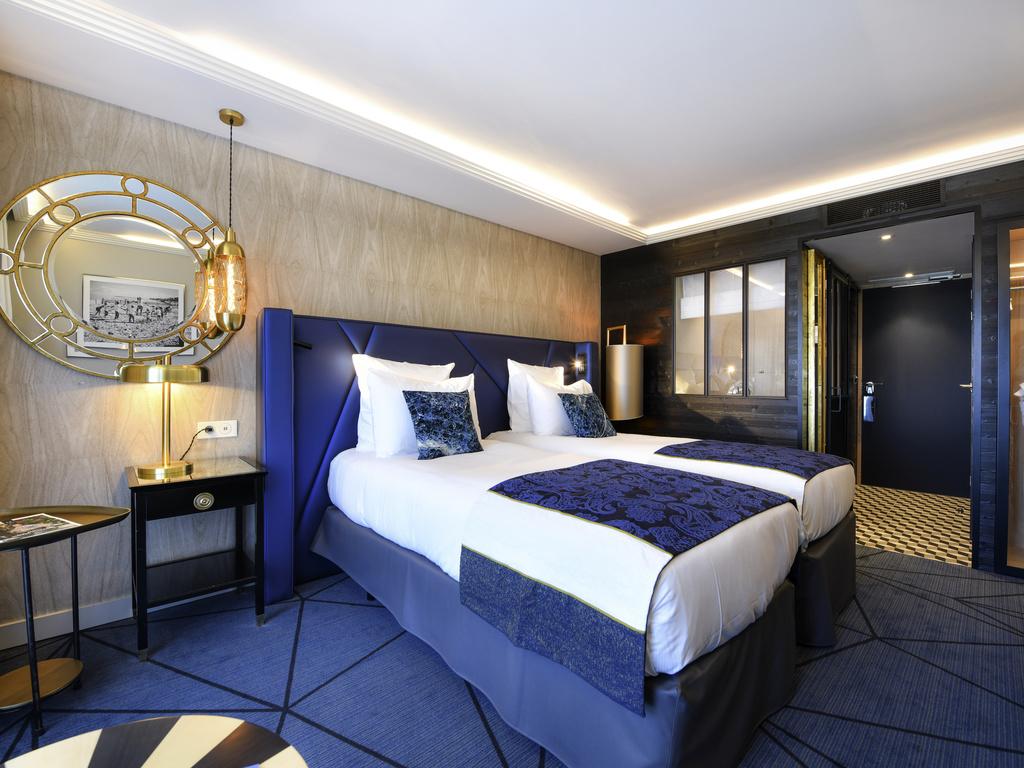 DELUXE ROOM, Twin Beds, Terrace, Garden View