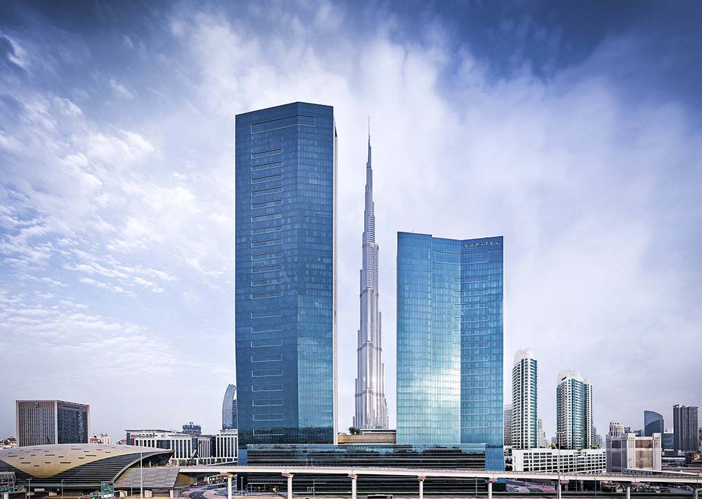 Sofitel dubai downtown luxury hotel in dubai official for Best hotels in downtown dubai