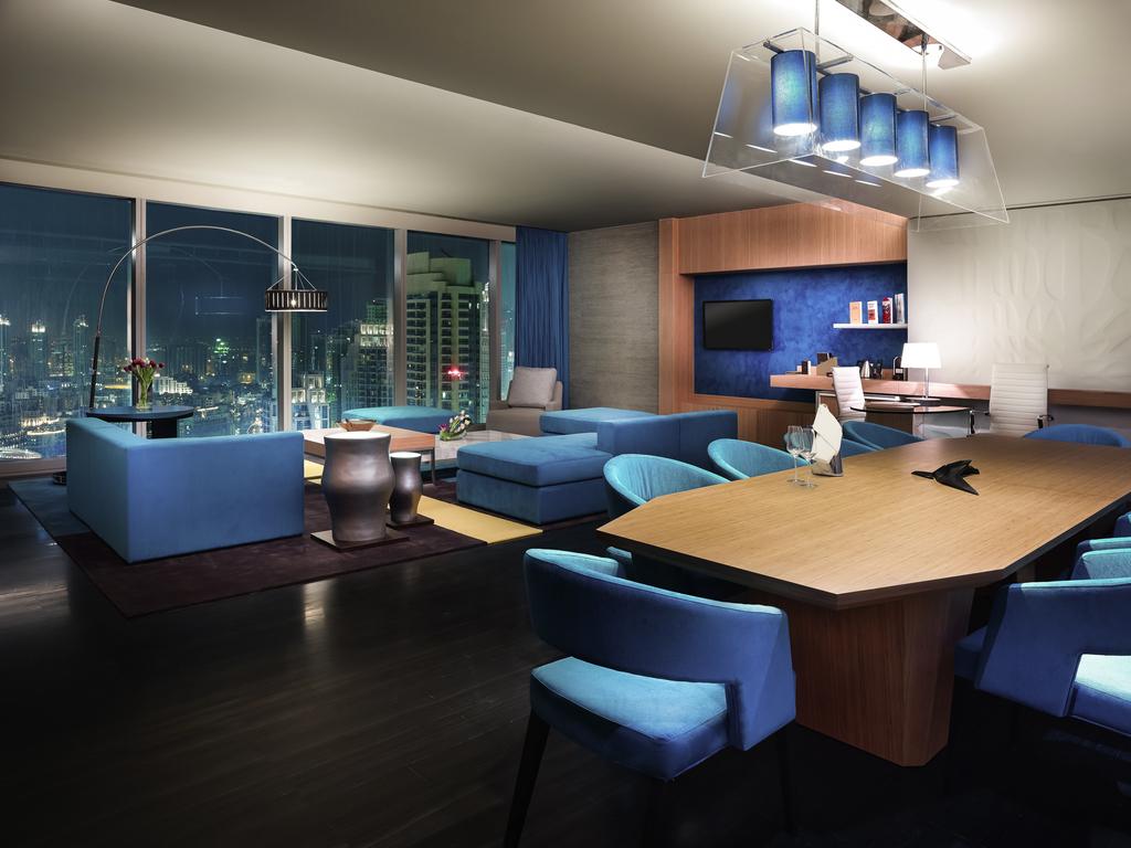 100 burj khalifa inside hotel in dubai sofitel for Top 100 hotels in dubai