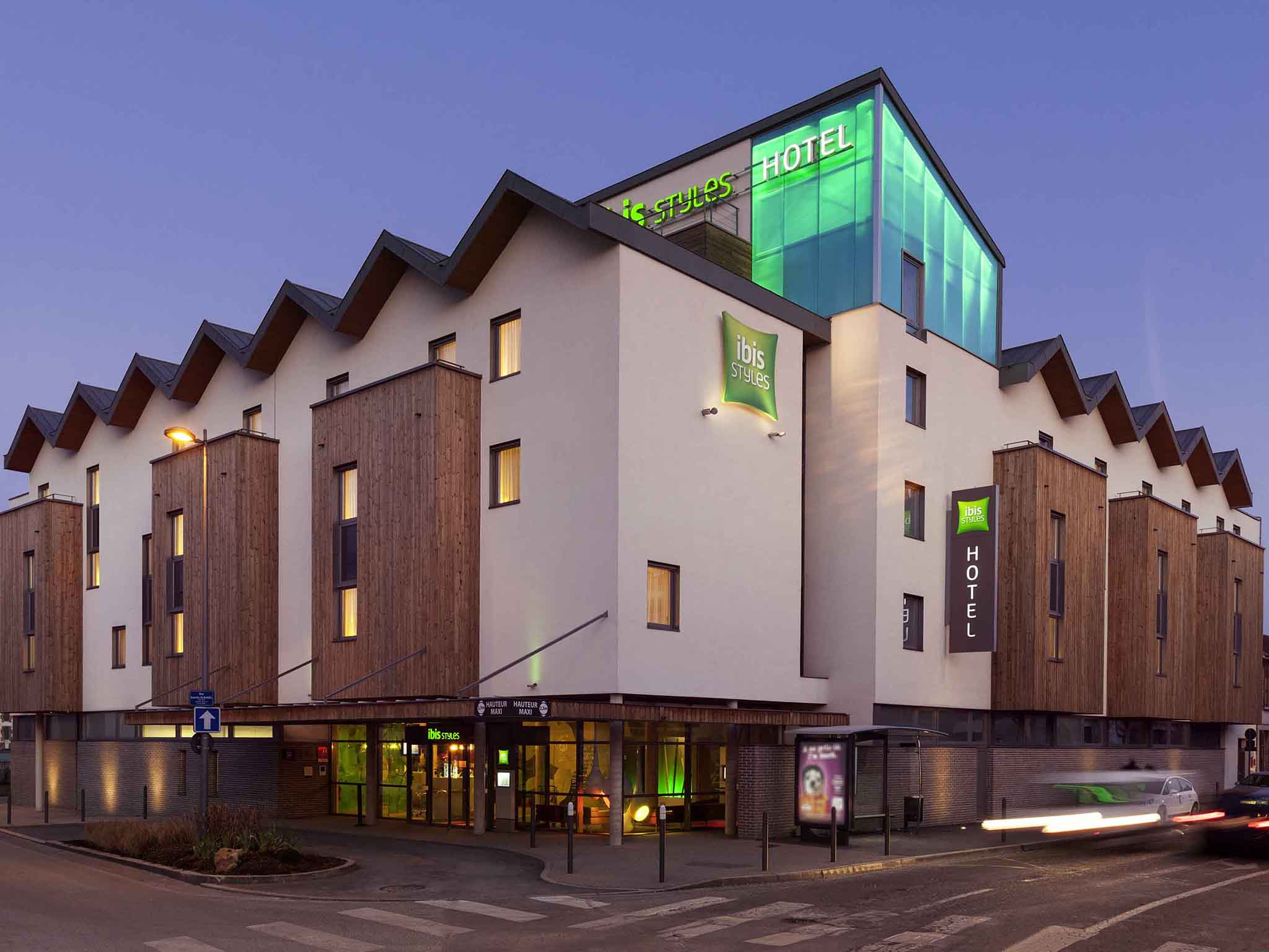 H tel troyes ibis styles troyes centre for Hotels troyes
