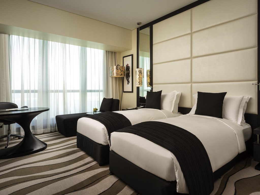 luxurious and splendid celtic bedroomtwo bedroom flat in dubai. SUPERIOR ROOM  twin beds Sofitel com