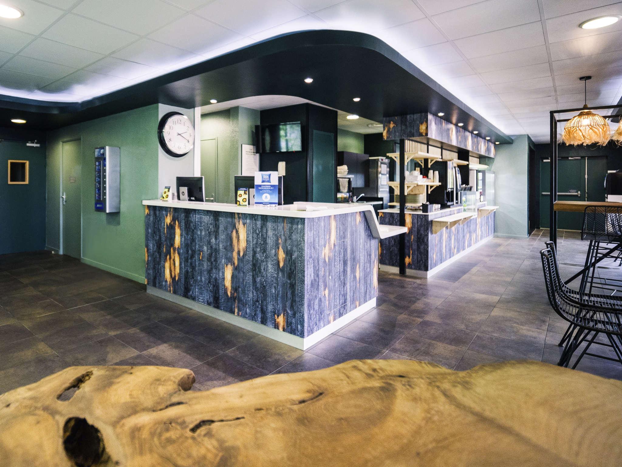 호텔 – ibis budget Bordeaux Aéroport