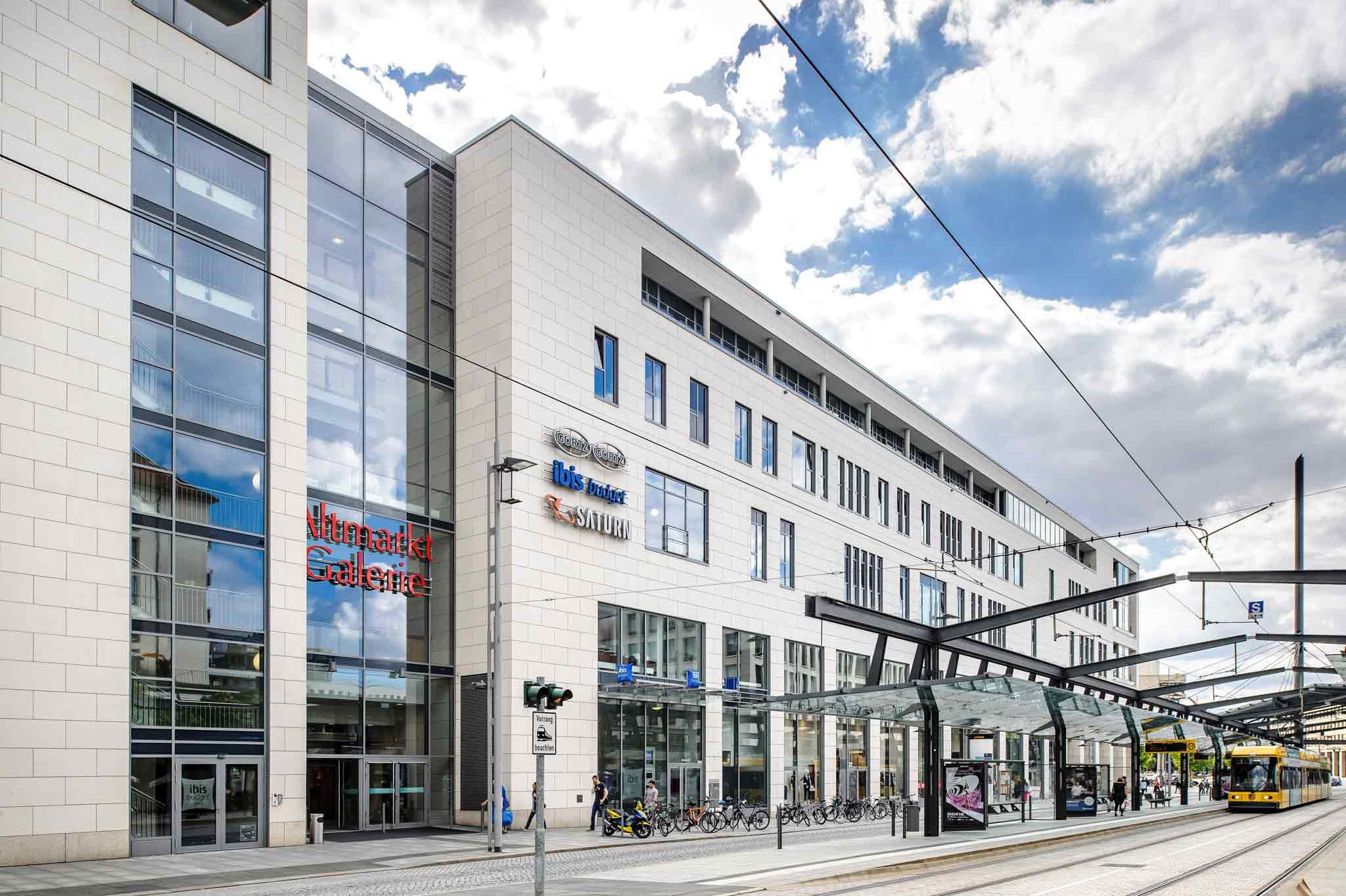 Отель — ibis budget Дрезден Сити