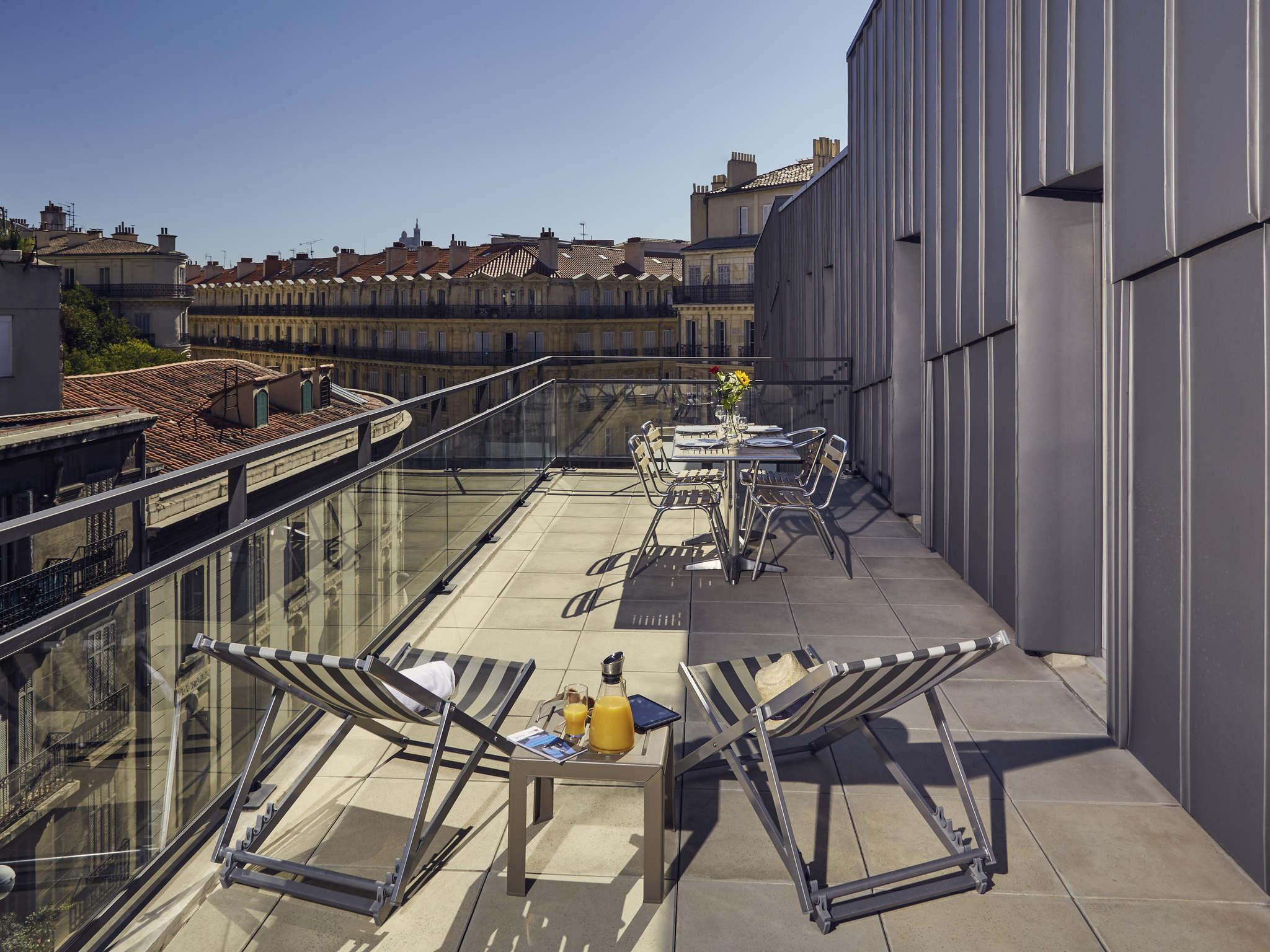 Hotell – Lägenhetshotell Adagio Marseille Vieux Port