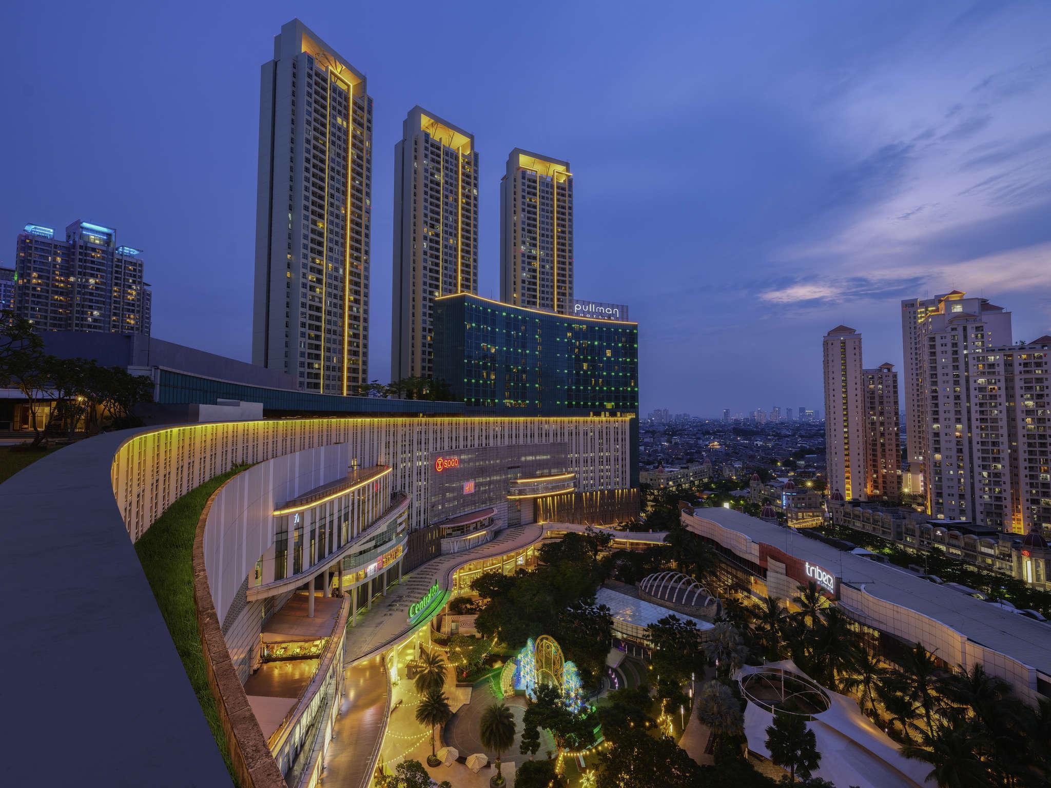 Отель — Pullman Джакарта Центральный Парк