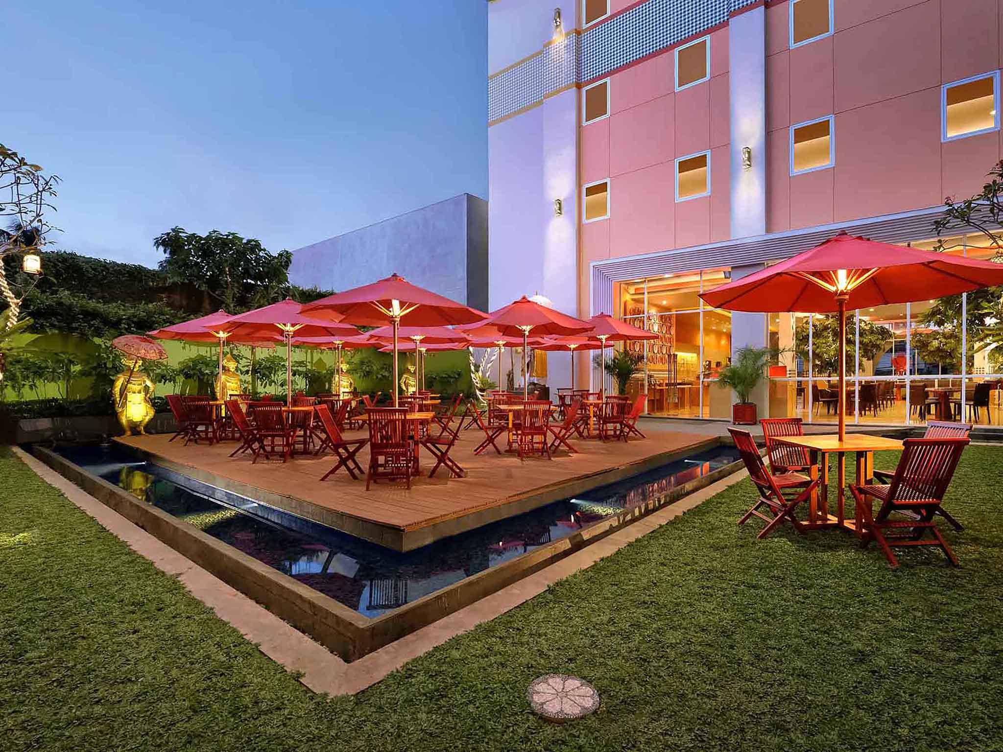 Ibis Bali Kuta Budget Modern Balinese Hotel In Voucer Best Western Resort Restaurant
