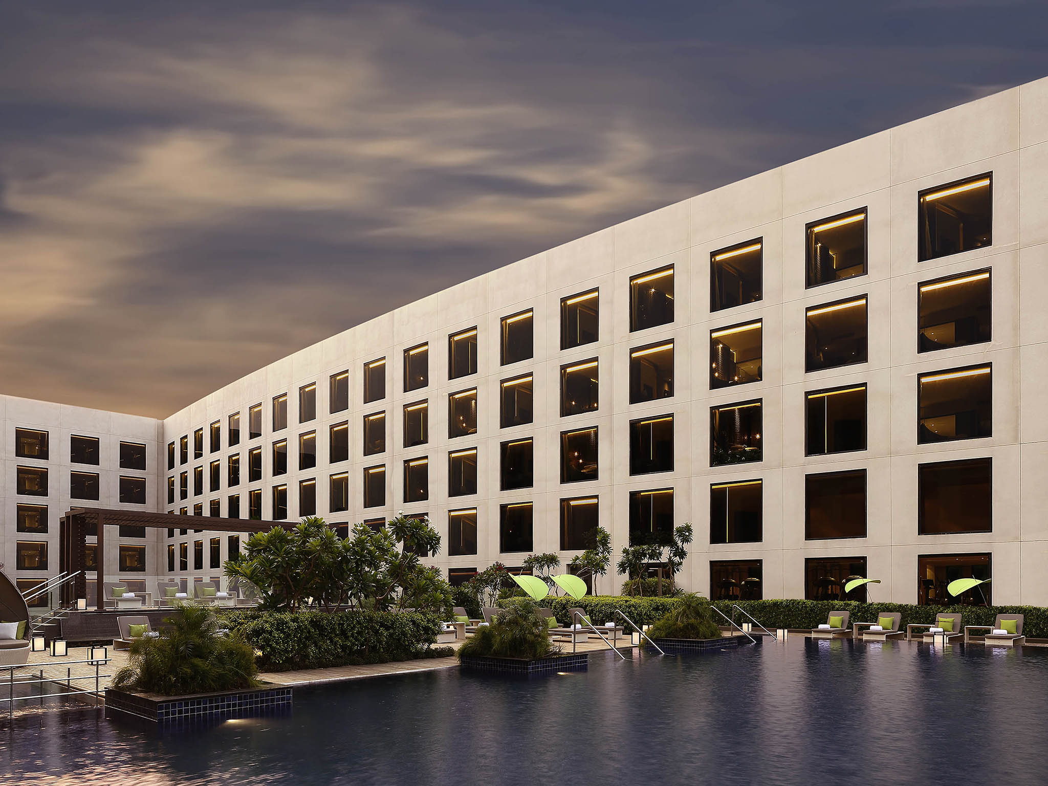 호텔 – Pullman New Delhi Aerocity