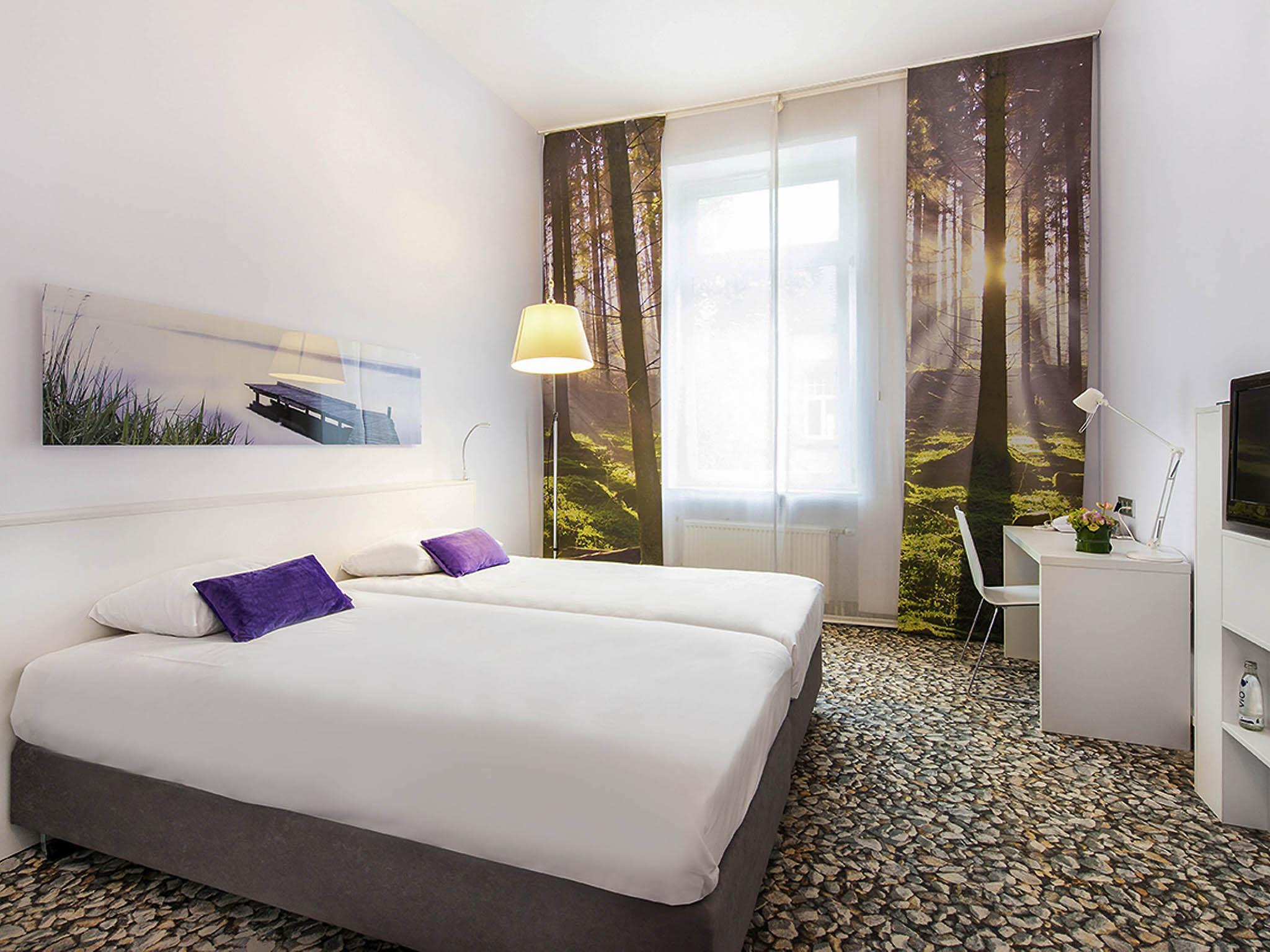 Отель — ibis Styles Франкфурт Сити