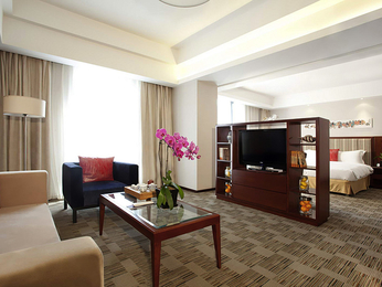 Zimmer - Mercure Beijing Downtown