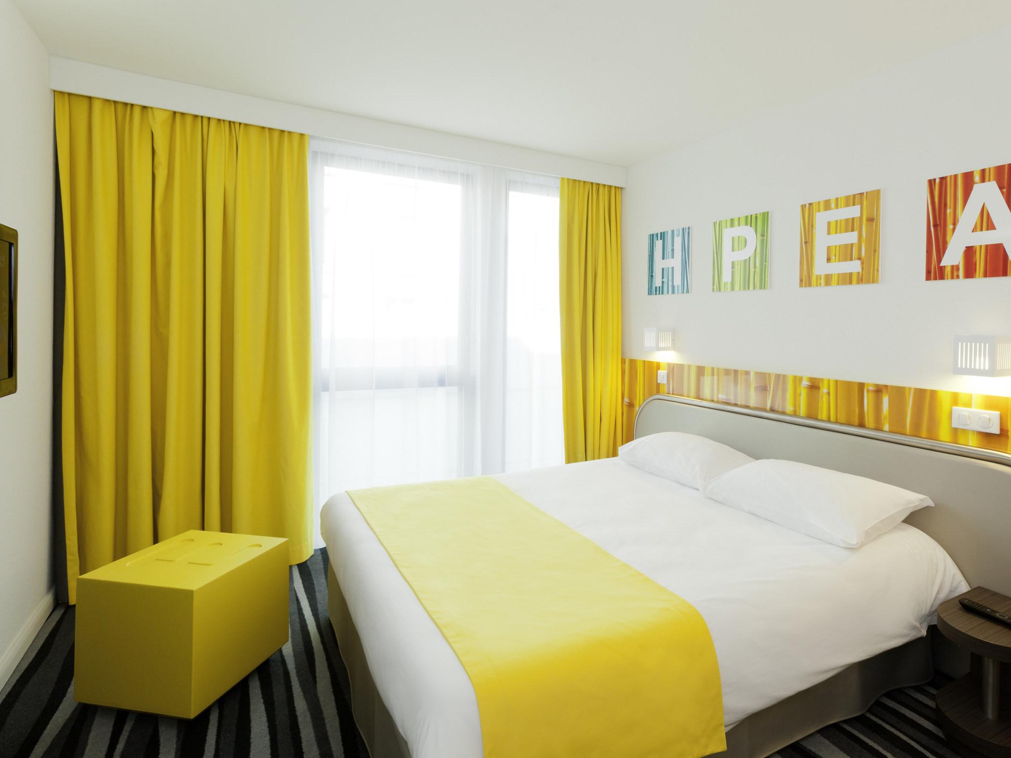 Hotel – ibis Styles París Puerta de Orleans