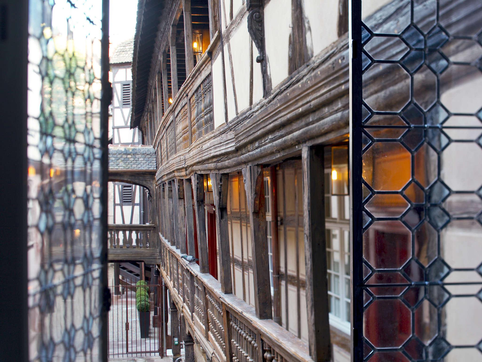 Отель — Кер дю Корбо Страсбург - MGallery by Sofitel