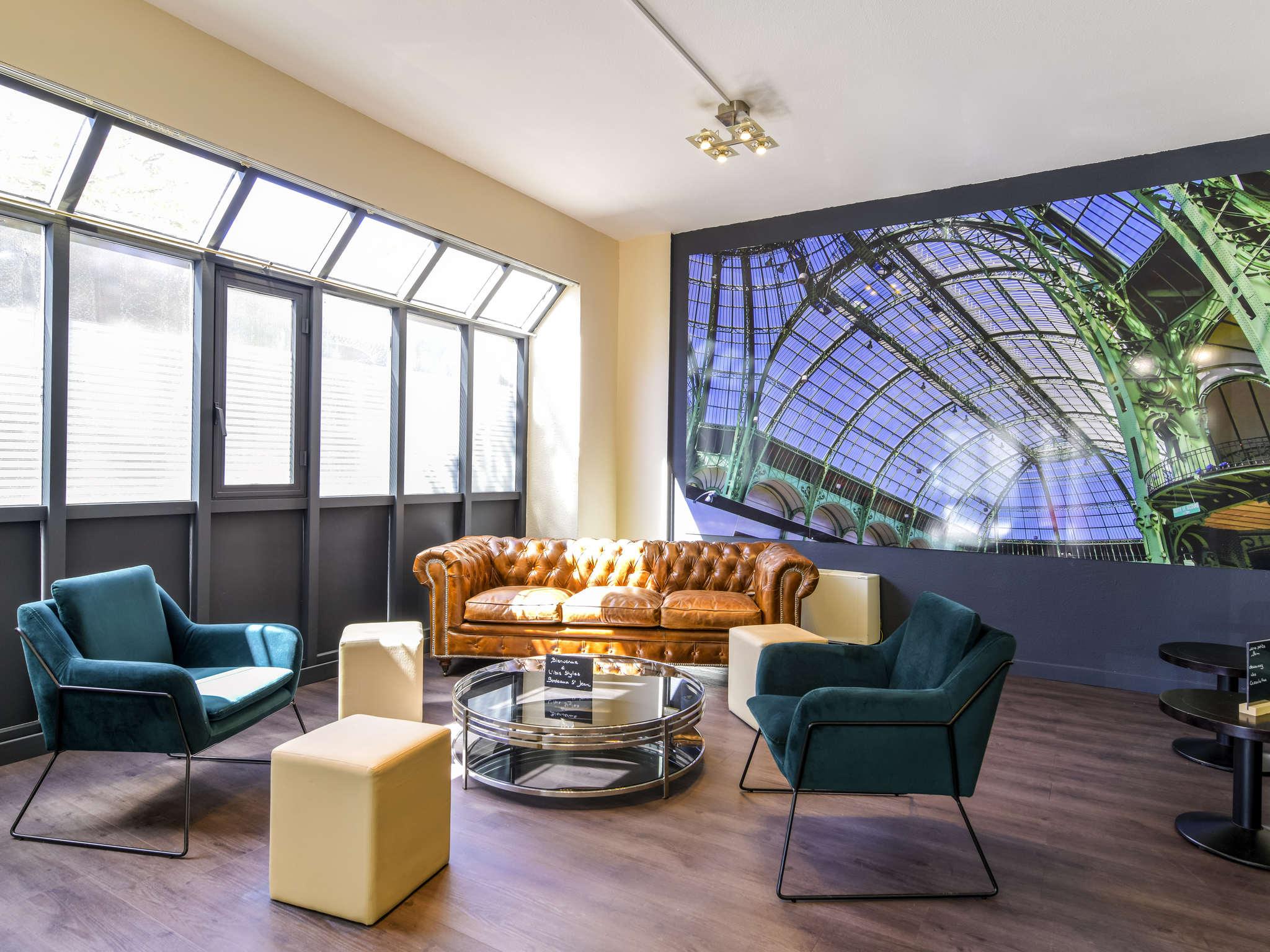 Hotel – ibis Styles Bordeaux Gare Saint Jean