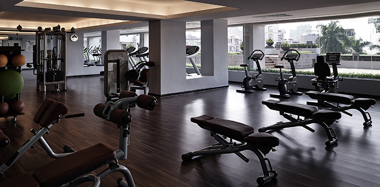 Golf fitness amenities pullman hanoi - Best cardio equipment for small spaces property ...