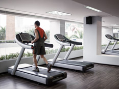 Take a break from work andWorkout in the new Fit Lounge